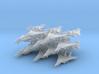 Grumman F-14 Tomcat (20x)(1:400) 3d printed