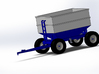 1/64 scale DMI 300 bushel center dump wagon kit 3d printed