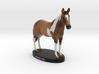 Custom Horse Figurine - Banjo 3d printed