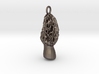 Morel mushroom earthy Keychain 3cm 3d printed