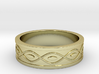Ring with Eyes - Size 8 3d printed