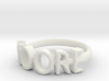 Moore Ring Size 6 3d printed