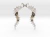 SeaBean Earrings 3d printed