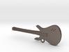 Electric Guitar Key Chain (Metal) 3d printed