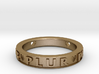 Plur Ring - Size 9 3d printed
