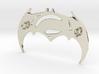 Batman V Superman Pendant 3d printed