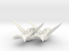 Hummingbird earrings 3d printed