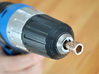Coffee Grinder Bit For Drill Driver CDP-L 3d printed Set image (Drill chuck)