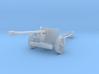1/87 H0-scale Pak40 german anti tank gun WW2 3d printed