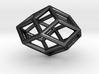 Rhombic Icosahedron Pendant 3d printed