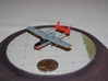1/144 Skymaster 3d printed Model build by Michel Anciaux