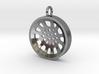 "High Tenor ""void"" steelpan pendant, S 3d printed"