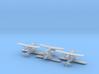 Caproni Ca.133 (6 Airplanes) 1/700 3d printed