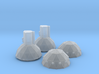 4222 ISD domes 3d printed