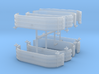 1/64th UFS Tandem Fender 4 pack assortment 3d printed