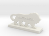 Logo MakeInIndia 3d printed