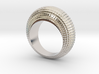 0100 Antisymmetric Torus Ring (Size 6) #001 3d printed