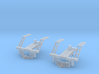 Rowa Y6B Pilots With Z & N Scale MT Couplings 3d printed