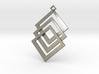 Cuboid prendant 3d printed