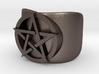 Pentacle Ring - large (choose size) 3d printed