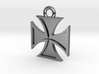 Iron Cross Pendant 2 3d printed