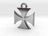 Iron Cross Pendant 3d printed
