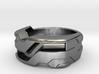 US8 Ring XXI: Tritium (Silver) 3d printed