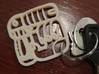 "Your name Mayan keychain 3d printed shown is ""Alec"", contact us for your custom design"