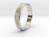 0103 Lissajous Figure Ring (Size10.5, 20.2mm) #004 3d printed
