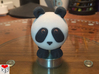 Ball Panda (Solid, 5cm) 3d printed