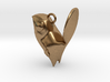 New Zealand Fantail charm 3d printed