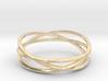ASNY Tri Swirl Bracelet 3d printed