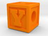 "Name Pieces; Letter ""Y"" 3d printed"