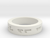 """""""All Will Be Well"""" Ring Size 10.5 3d printed"""