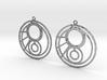 Jemma - Earrings - Series 1 3d printed