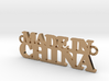 Made in CHINA Pendant 3d printed