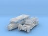 Alpenwagen - mit geschlossenem Verdeck (N 1:160) 3d printed