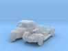 Fiat 500A Topolino (N 1:160) 3d printed