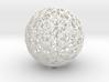 Triangulated Wiresphere 3d printed