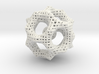 Icosahedron math art 3d printed