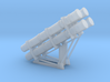 1:96 scale Harpoon Launcher - loaded 3d printed