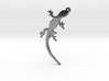 Gecko Crawling Necklace Pendant 3d printed