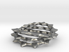 """Spiny """"Feeling"""" Ring - Size 5 3d printed"""