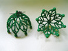 Leaf Jhumka - Indian Bell earrings 3d printed