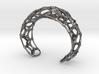 Voronoi Webb Fibre Cuff 3d printed