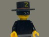 Zorro and sword for lego  3d printed