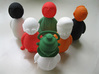 Singh - Indian-vidual Indian style figurine 3d printed switched heads