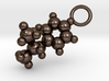 Methamphetamine Molecule Pendant - 20mm  3d printed