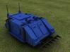Scifi Troop transport 3d printed