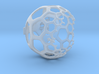 Honeycomb Light Projection Sphere 3d printed